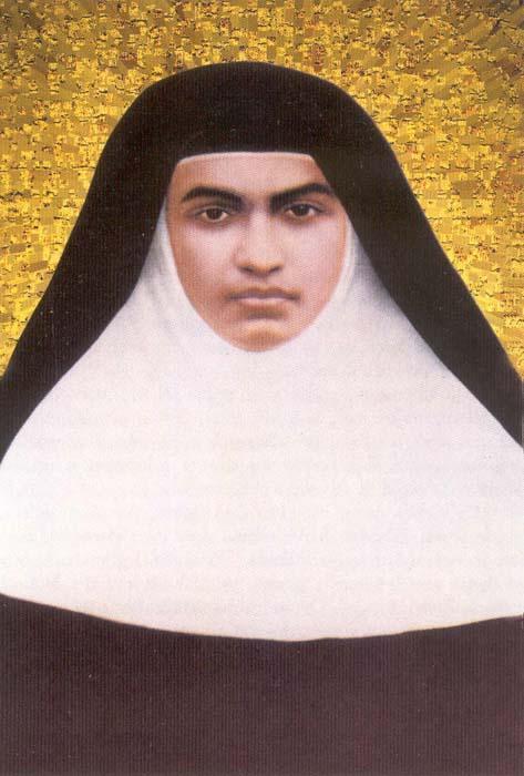 Suor Alfonsa, santa indiana