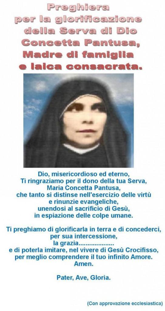 La serva di Dio, Concetta Pantusa, madre di famiglia e laica consacrata